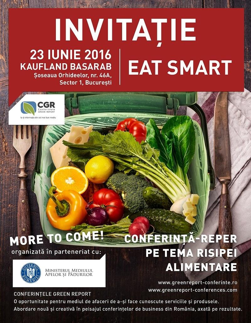 Conferinta EAT SMART » Invitatie